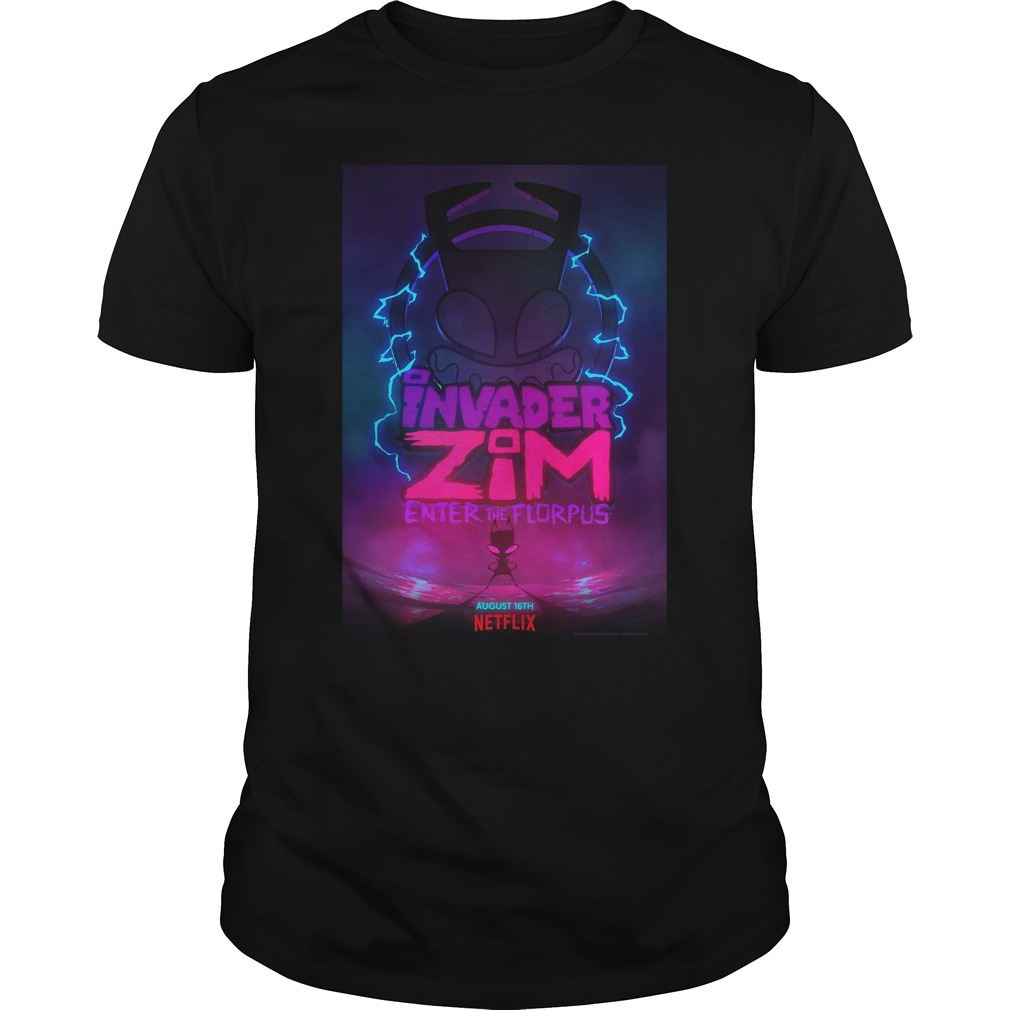 Invader Zim Enter The Florpus Shirt