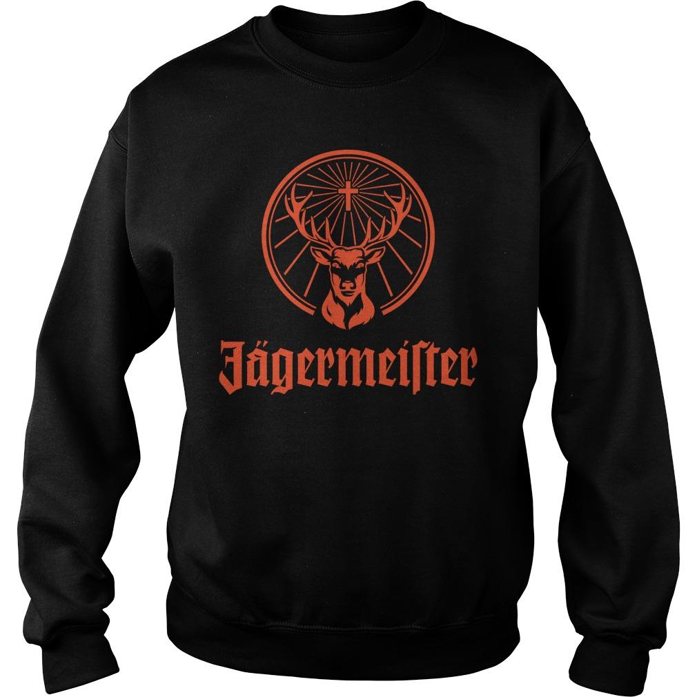 Jagermeister Liqueur Liquor Alcohol Brand Shirt sweater