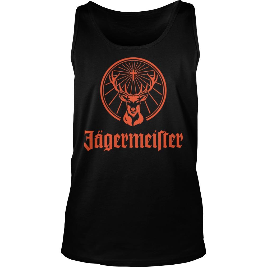 Jagermeister Liqueur Liquor Alcohol Brand Shirt tank top