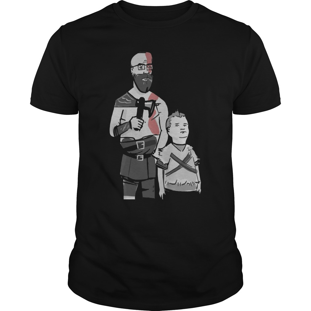 Kratos And Atreus Dang It Boy Shirt
