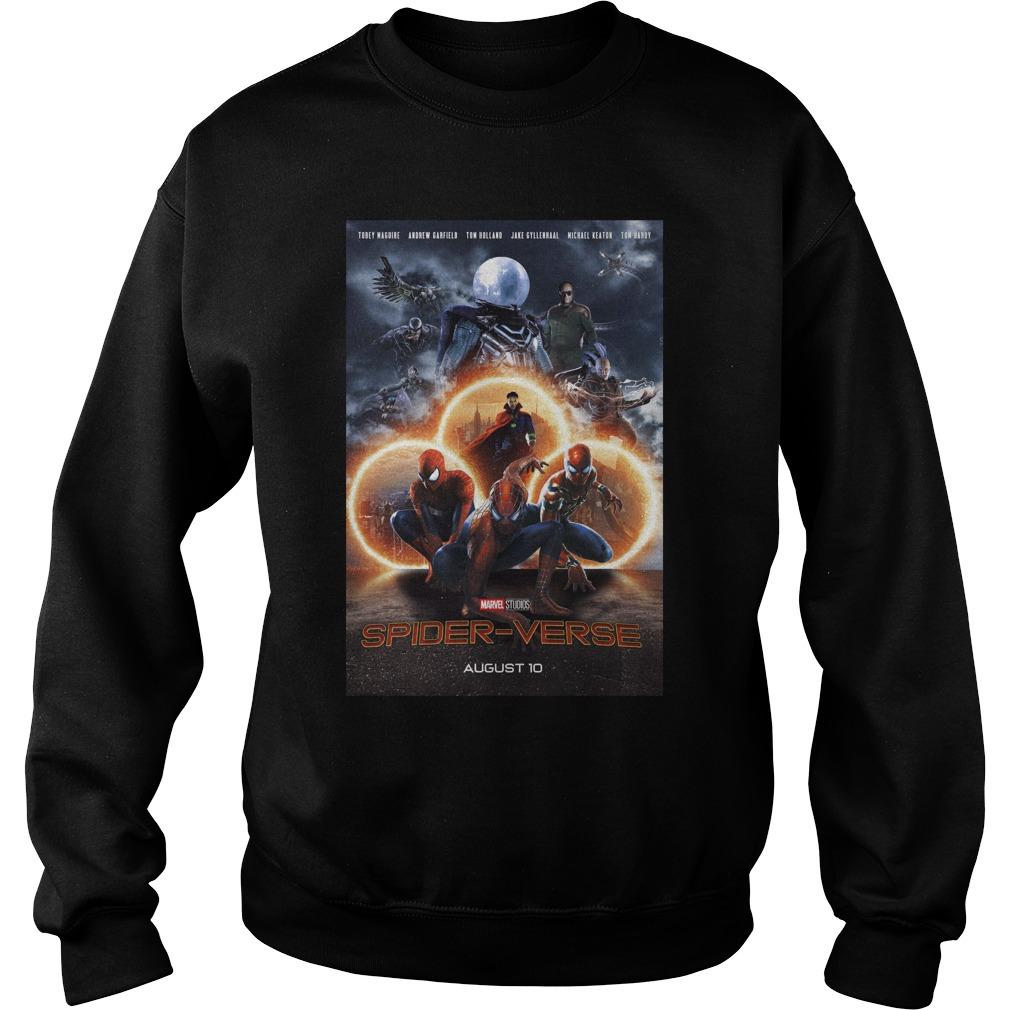Marvel Studios Spider-Verse August 10 Shirt sweater