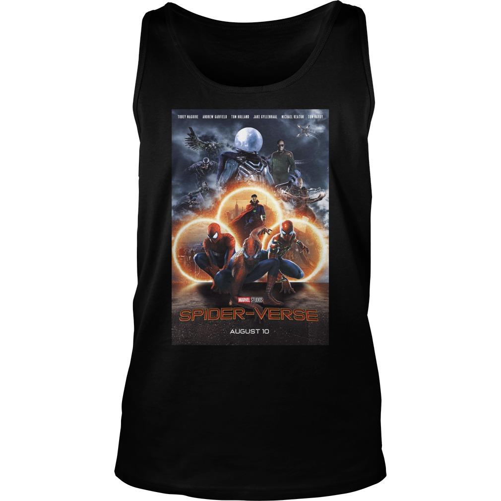 Marvel Studios Spider-Verse August 10 Shirt tank top
