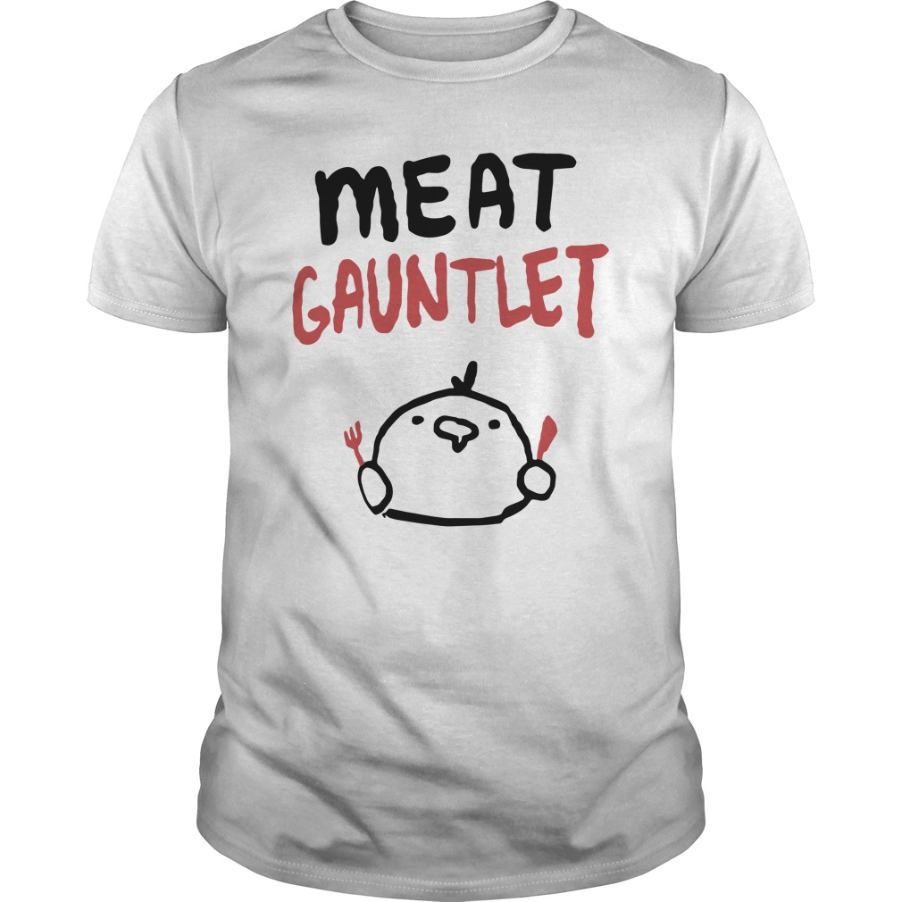 Meat Gauntlet White Shirt