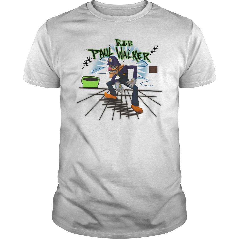 Rip Paul Walker Shirt