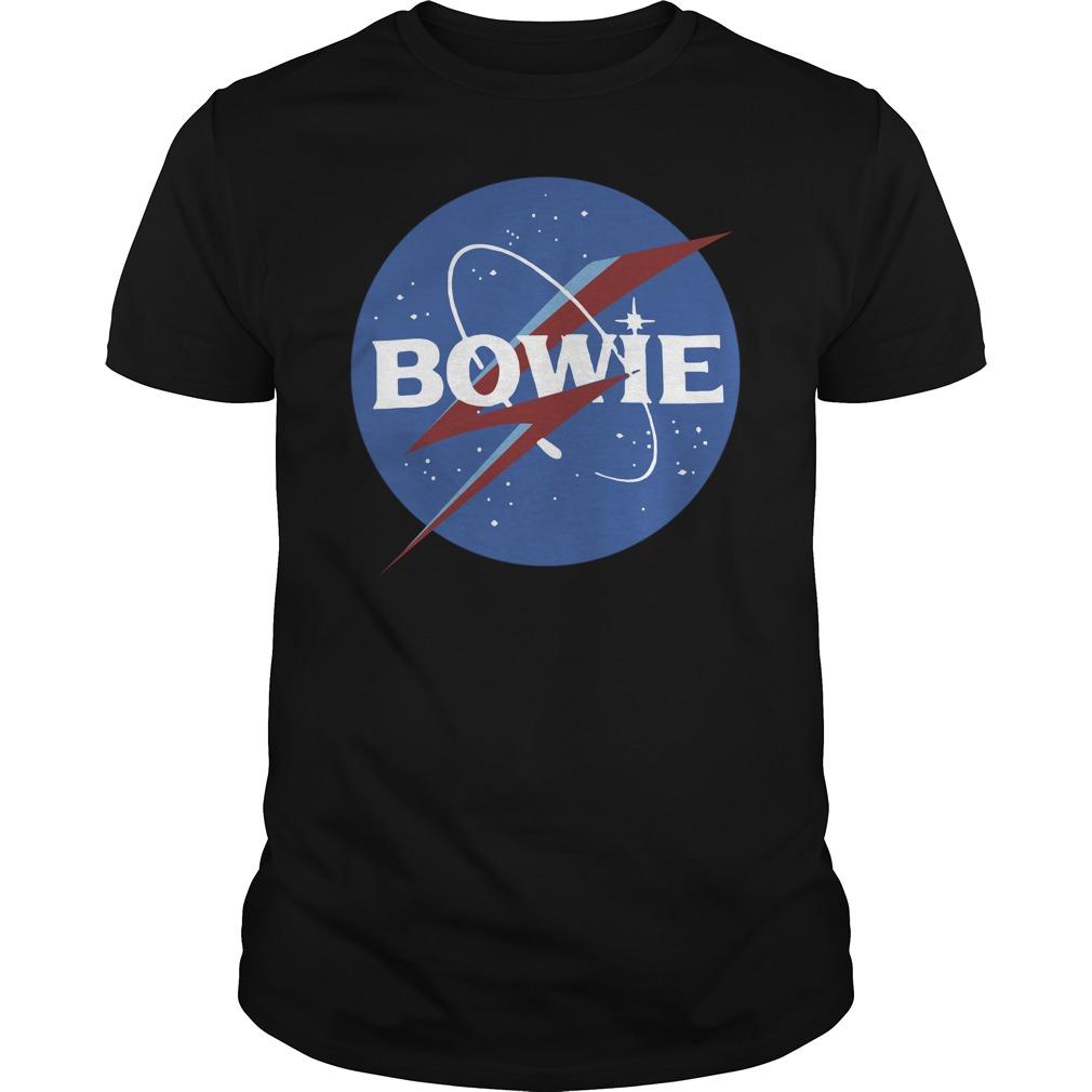 Space Logo David Bowie Shirt