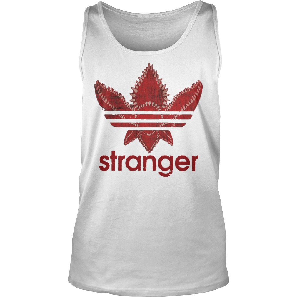 Stranger Things Adidas Shirt tank top