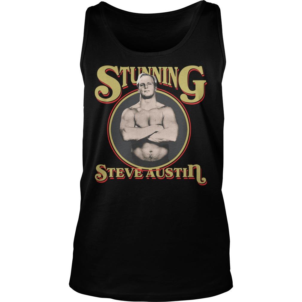 Stunning Steve Austin Shirt tank top