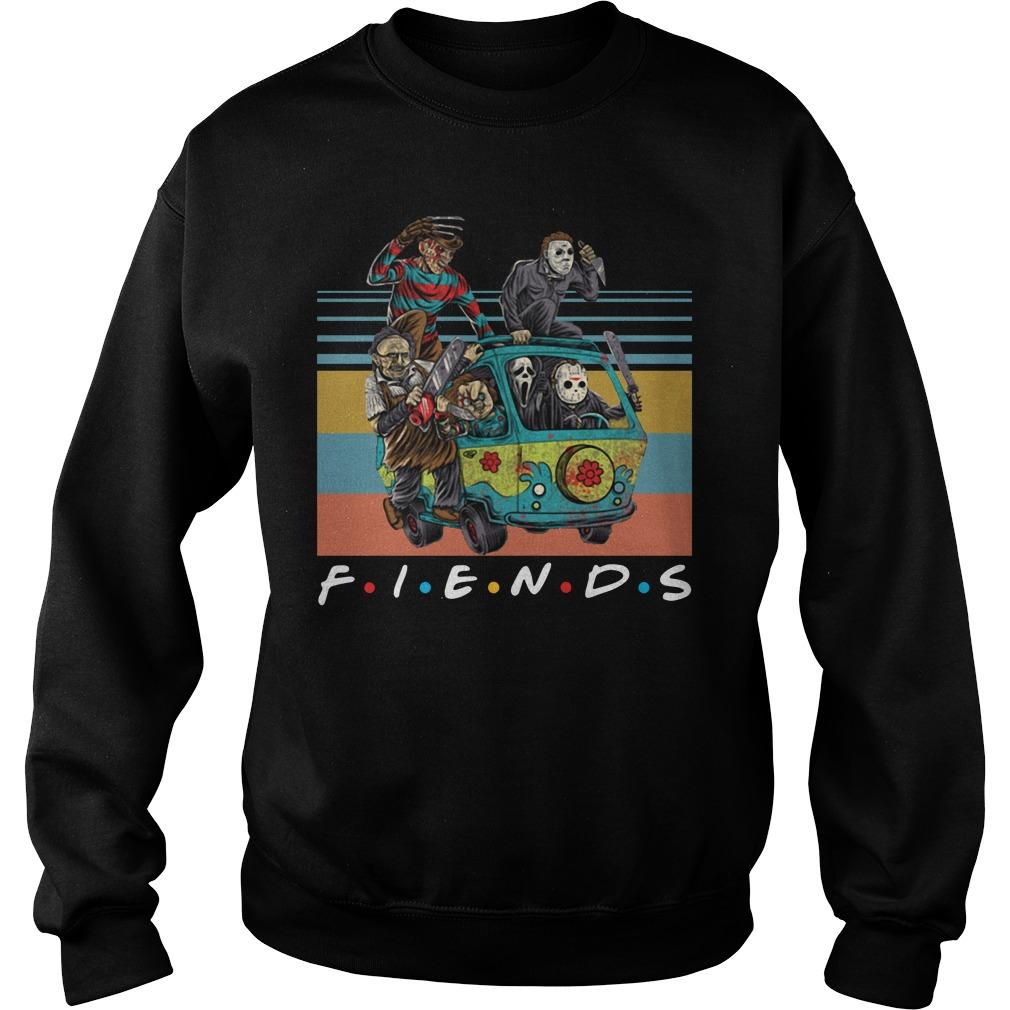 Vintage Friends Massacre Machine Horror Shirt sweater