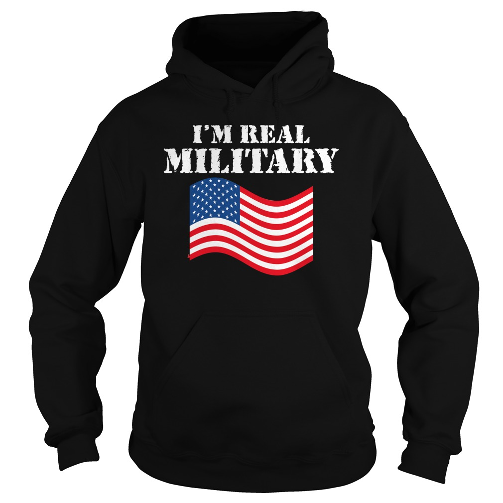 WWE I'm Real Military Wrestlemania Shirt hoodie
