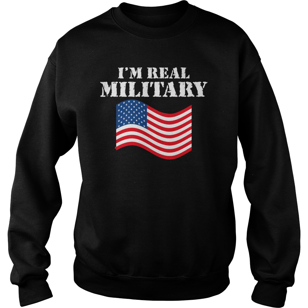 WWE I'm Real Military Wrestlemania Shirt sweater