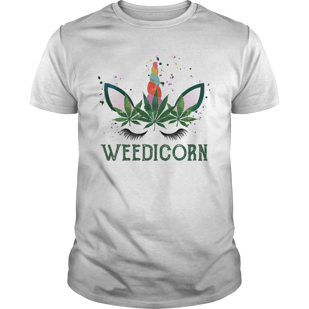 Weedicorn Funny Weed Unicorn Lover Shirt