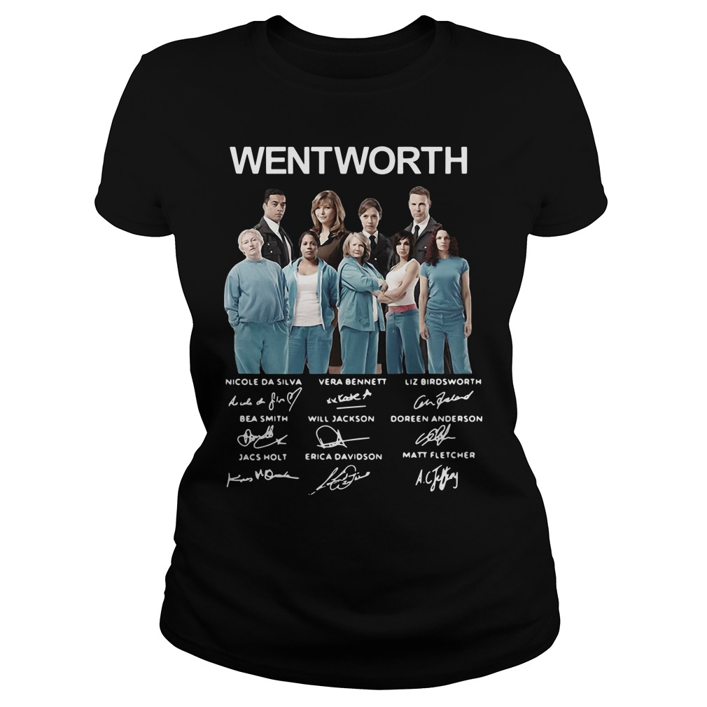 Wentworth Prison Signature Shirt ladies tee