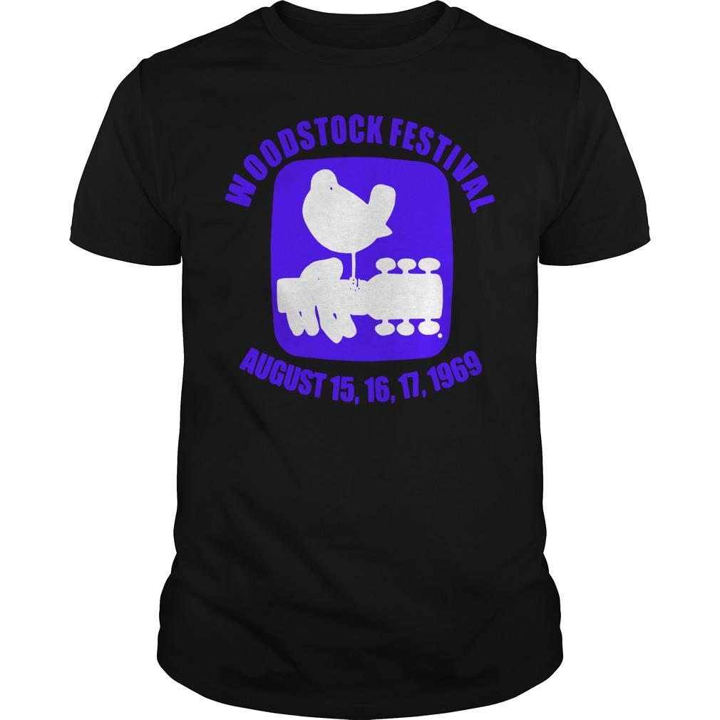 Woodstock Festival August 15 16 17 1969 Shirt