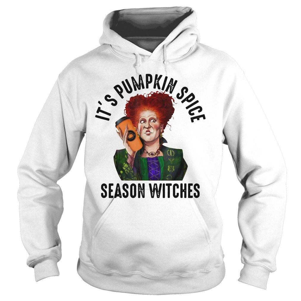 Awesome Hocus Pocus Winifred Sanderson It's Pumpkin Spice Season Shirt hoodie