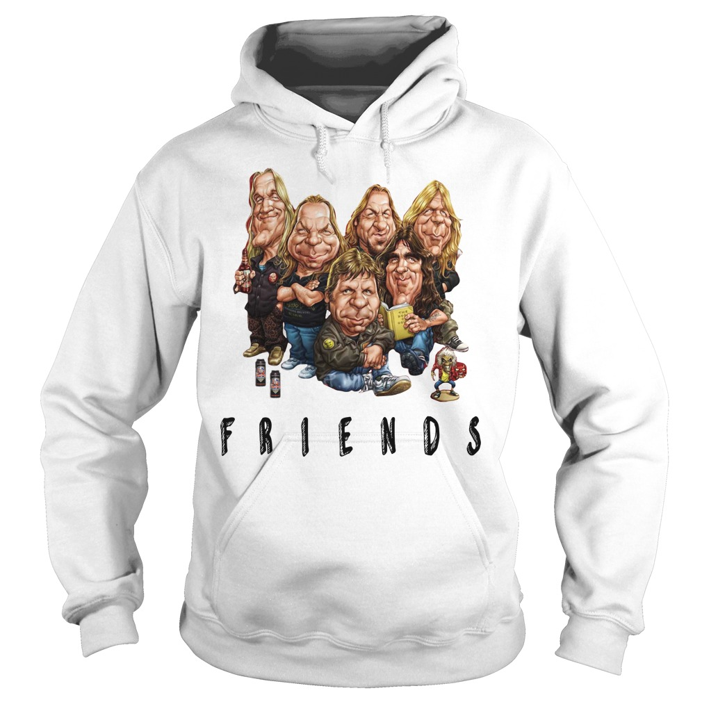 Iron Maiden Friends Shirt hoodie