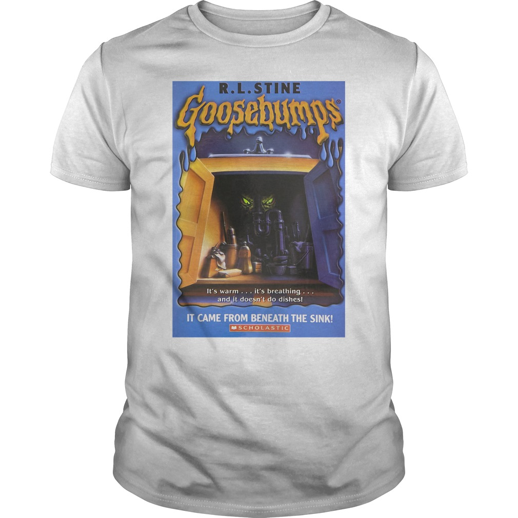 R L Stine Goosebumps It Came From Beneath The Sink Scholastic Shirt