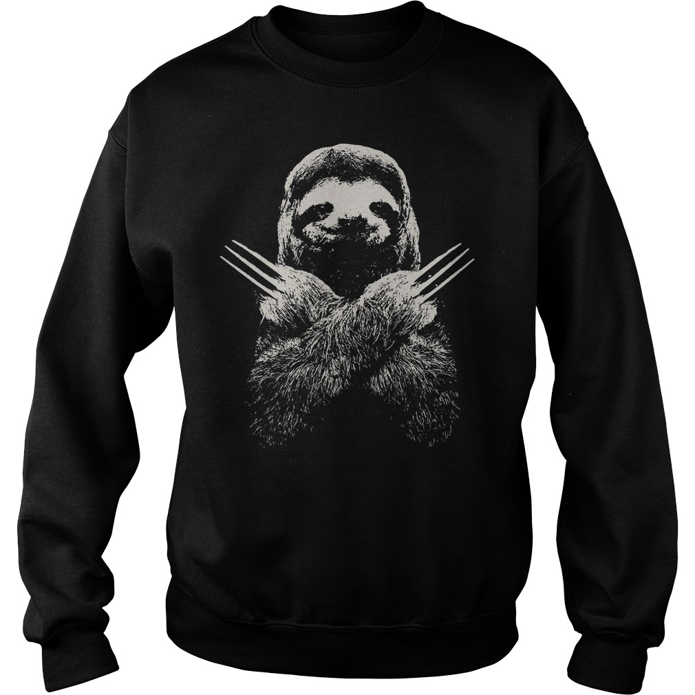 Sloth Wolverine Shirt sweater
