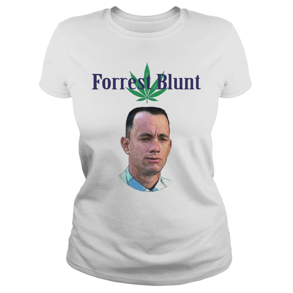Tom Hanks Forrest Blunt Shirt ladies tee