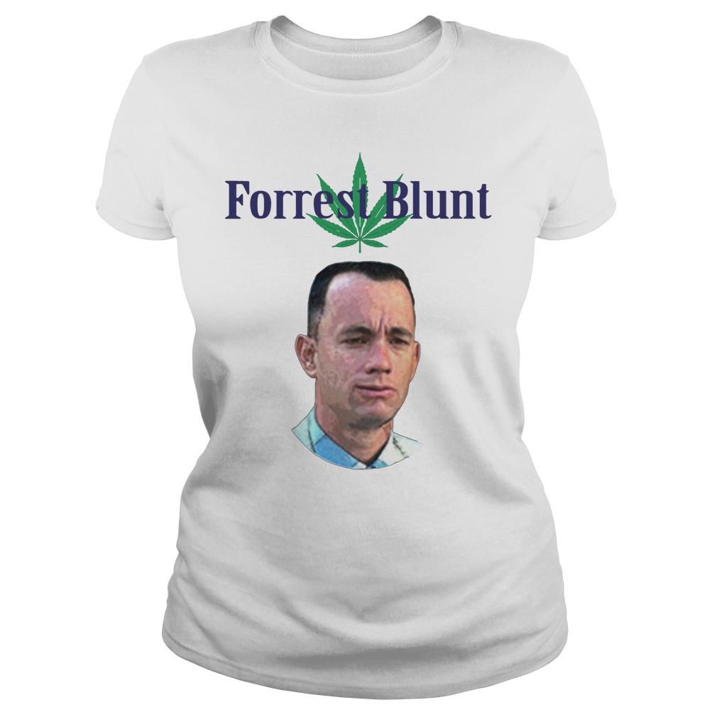 Tom Hanks Forrest Blunt Shirt ladies tee