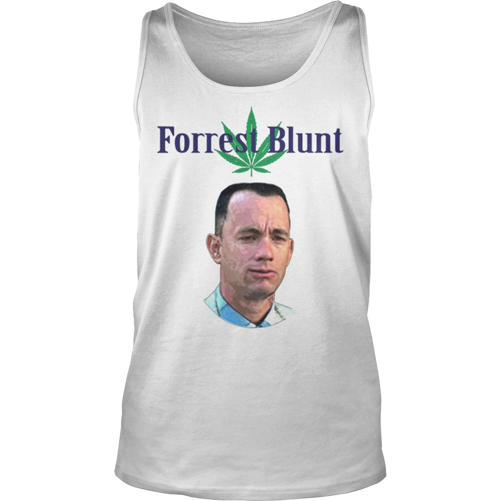Tom Hanks Forrest Blunt Shirt tank top