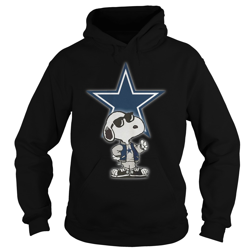 Dallas Cowboys Snoopy Football Sports Hoodie