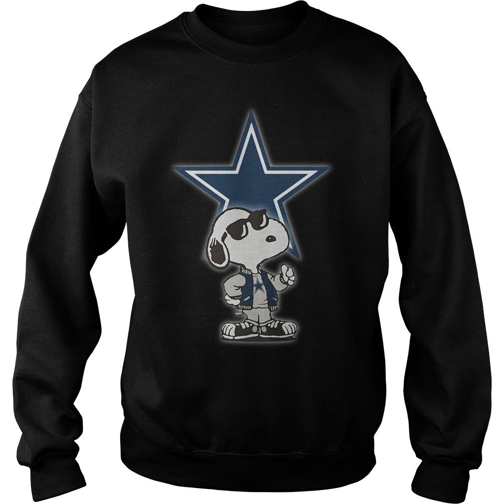 Dallas Cowboys Snoopy Football Sports Sweater