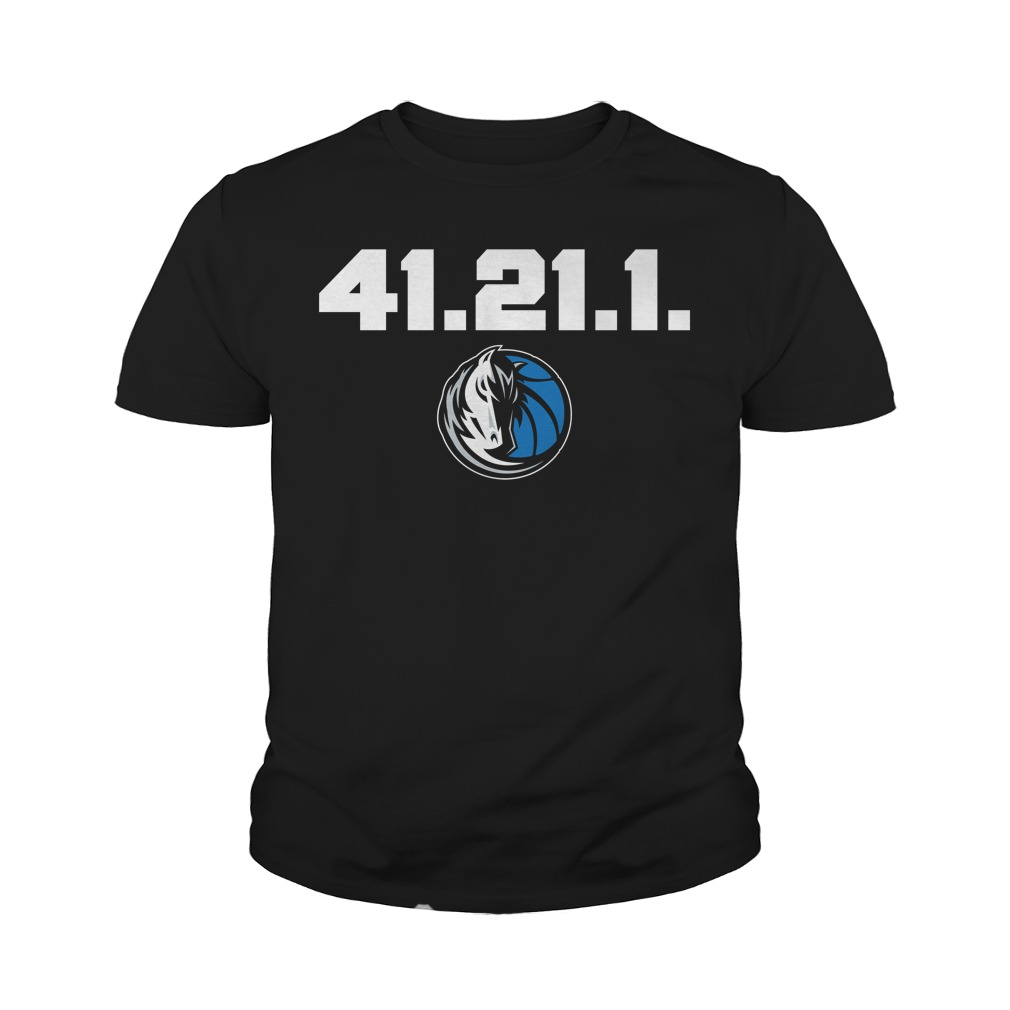 Dirk Nowitzki Final Home Game 41.21 1 Authentic Youth Shirt
