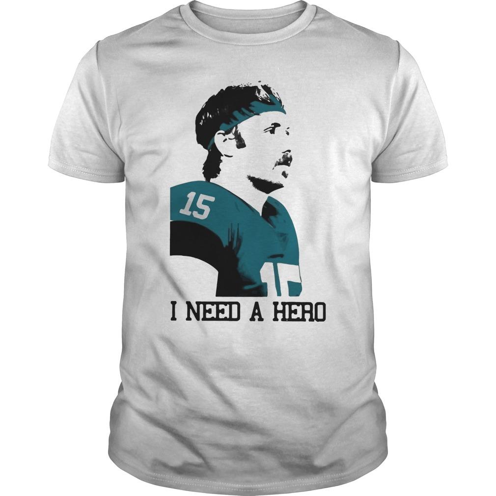 Gardner Minshew I Need A Hero Guys Shirt