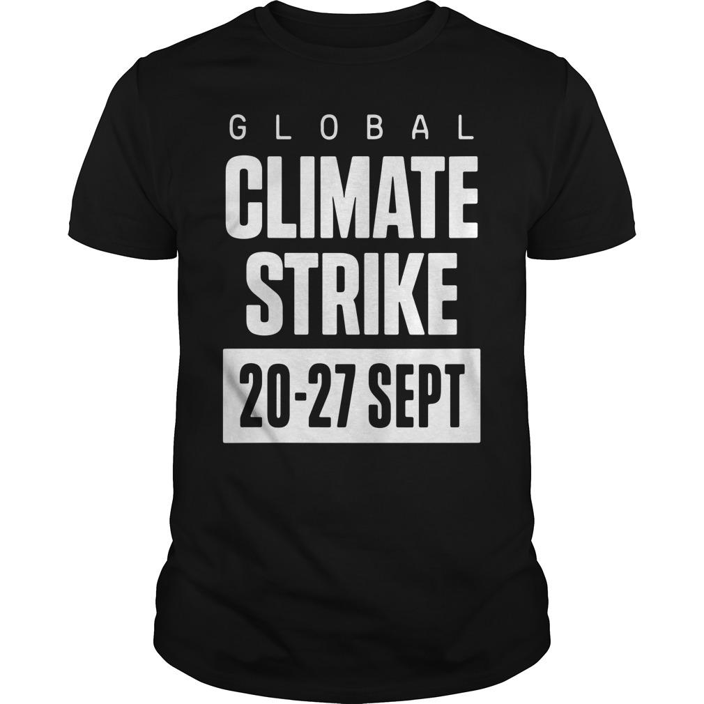 Global Climate Strike 20 27 Sept Guys Shirt