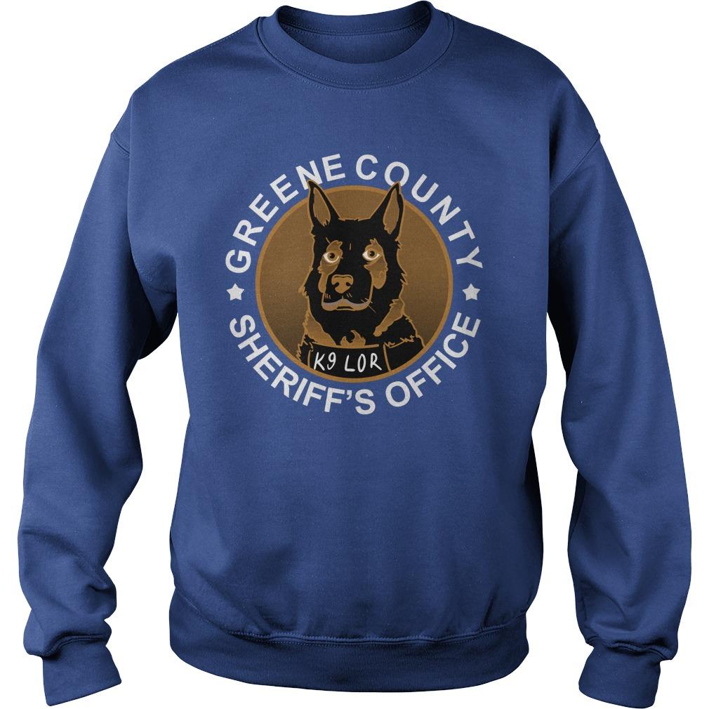 Greene County Sheriff's Office K9 Lor Sweater