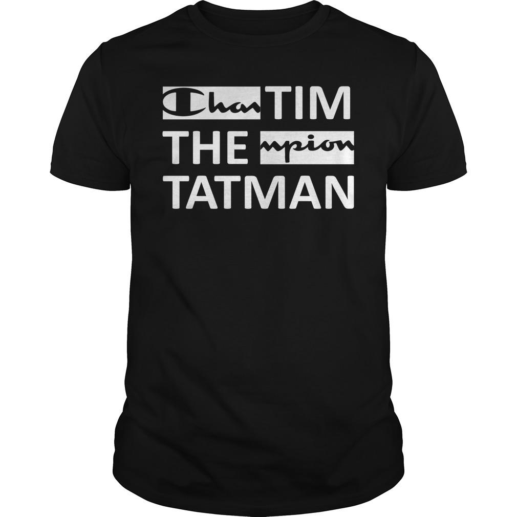 Official Champion TimTheTatman Black Guys Shirt