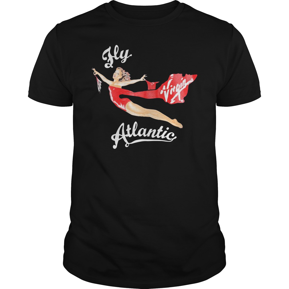Official Fly Virgin Atlantic Pinup Guys Shirt