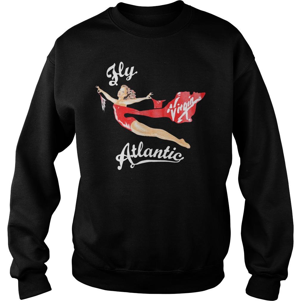 Official Fly Virgin Atlantic Pinup Sweatshirt