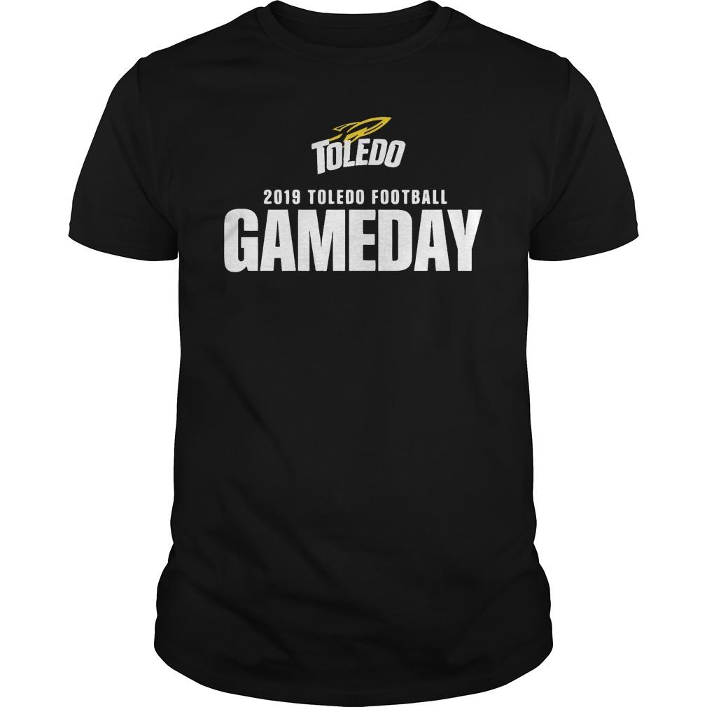 Toledo 2019 Toledo Football Gameday Guys Shirt