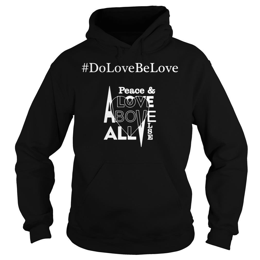 # DoLoveBeLove Black Shirt hoodie
