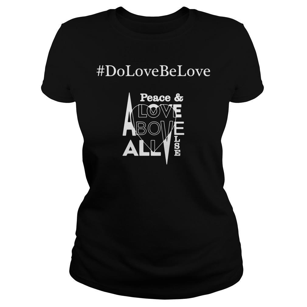 # DoLoveBeLove Black Shirt ladies tee