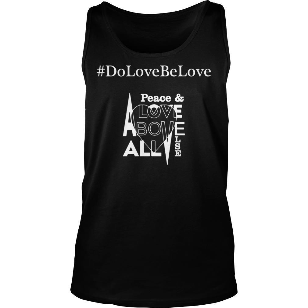 # DoLoveBeLove Black Shirt tank top