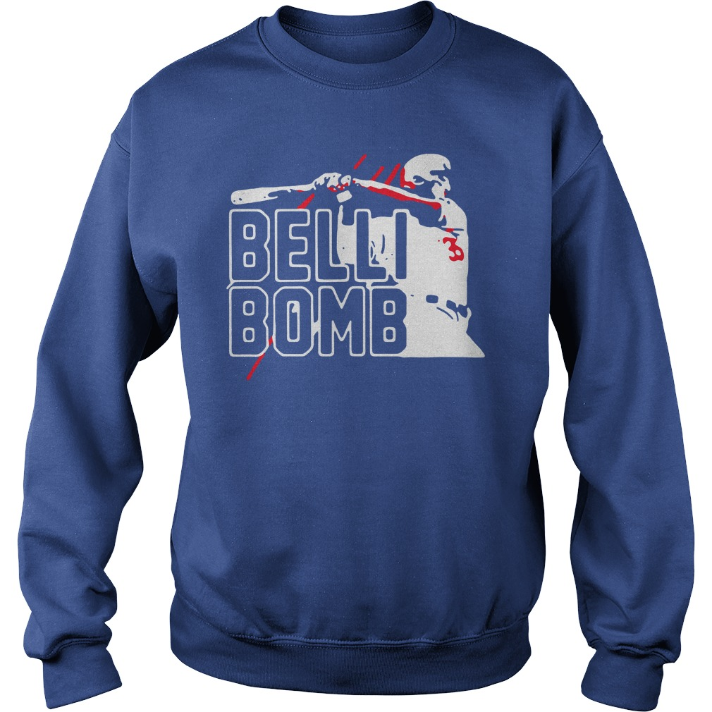 Belli Bombs Los Angeles Dodgers Sweater
