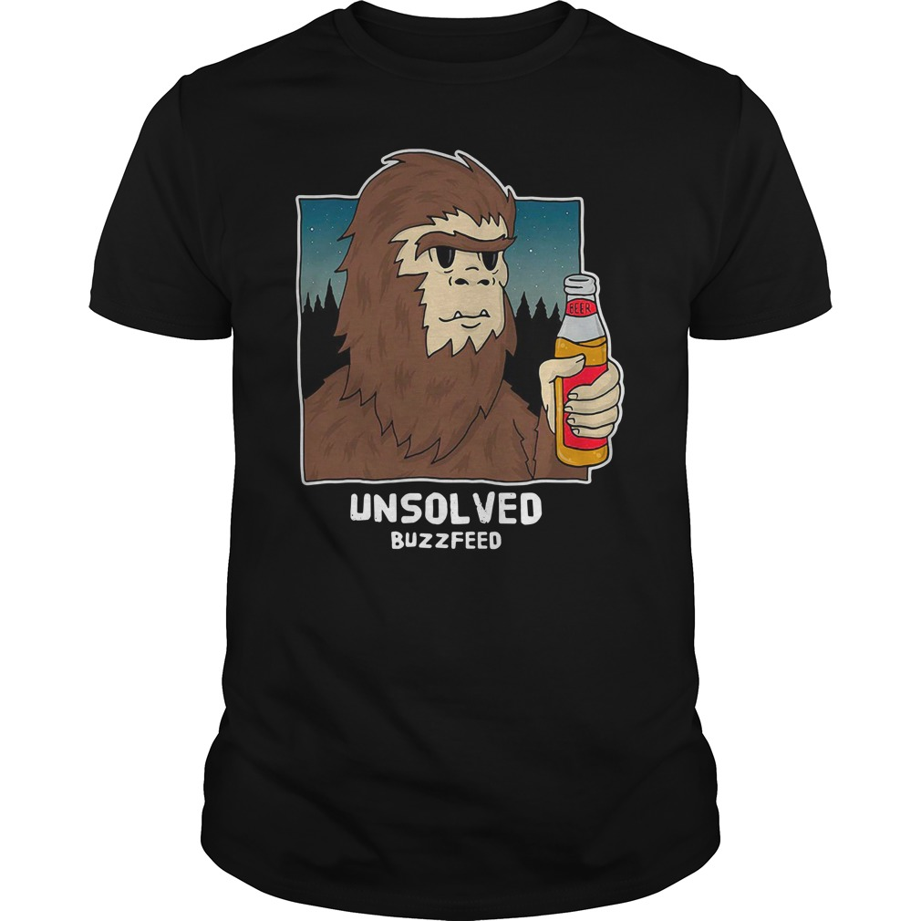 Buzzfeed Unsolved Bigfoot Guys Shirt