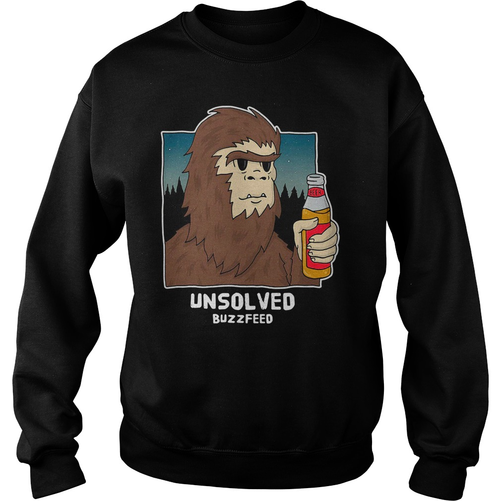 Buzzfeed Unsolved Bigfoot Sweater