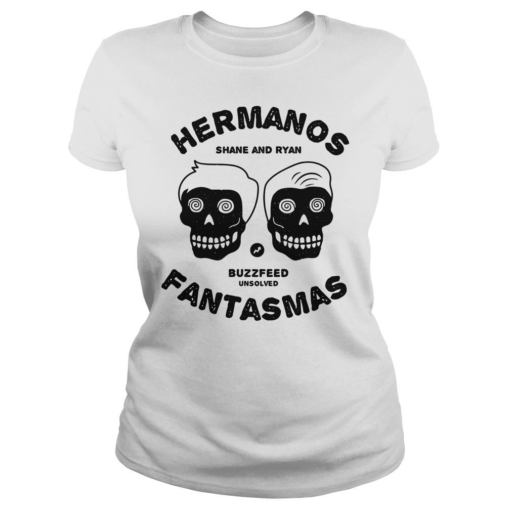 Buzzfeed's Unsolved Hermanos Fantasmas Ladies Shirt