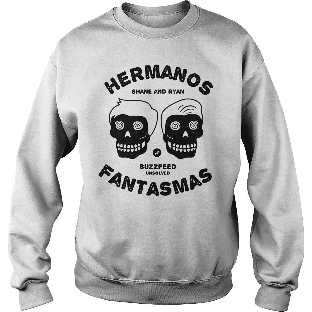 Buzzfeed's Unsolved Hermanos Fantasmas Sweater