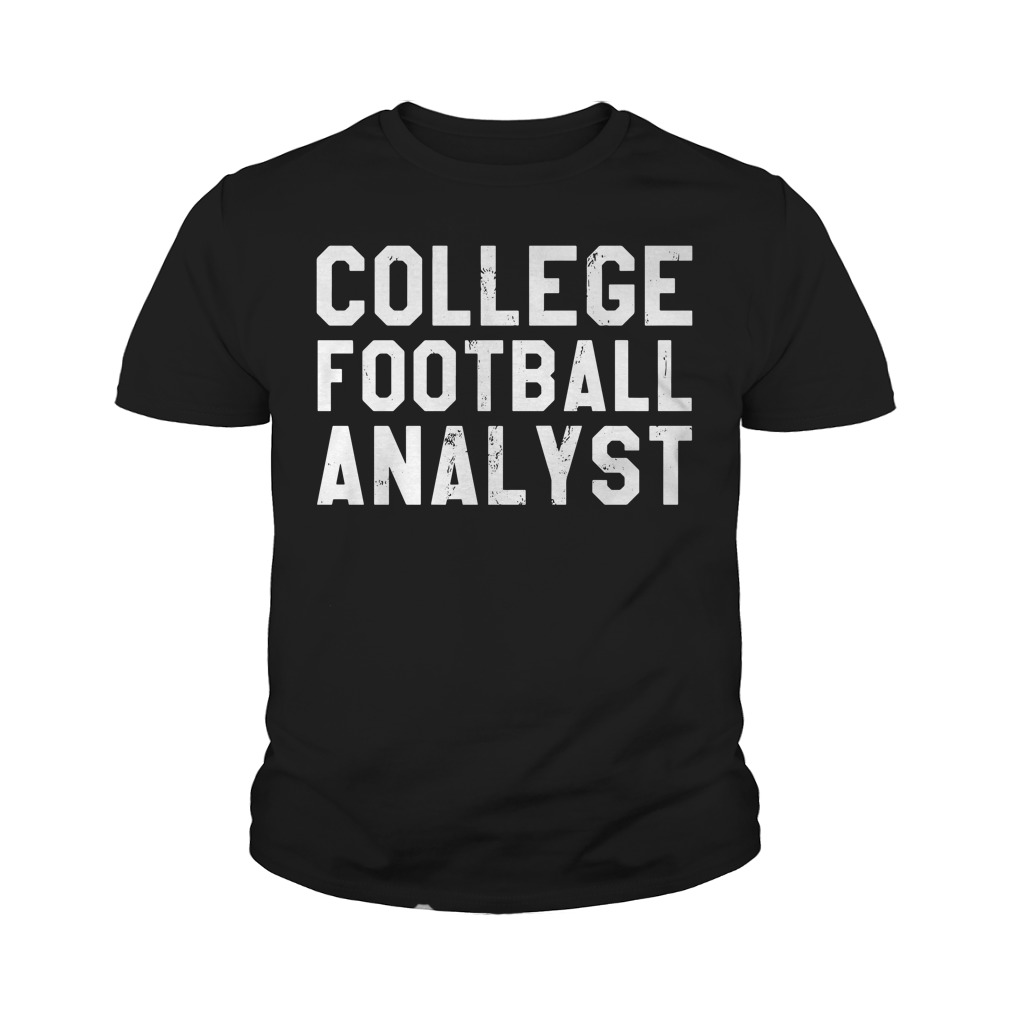 College Football Analyst Youth Shirt