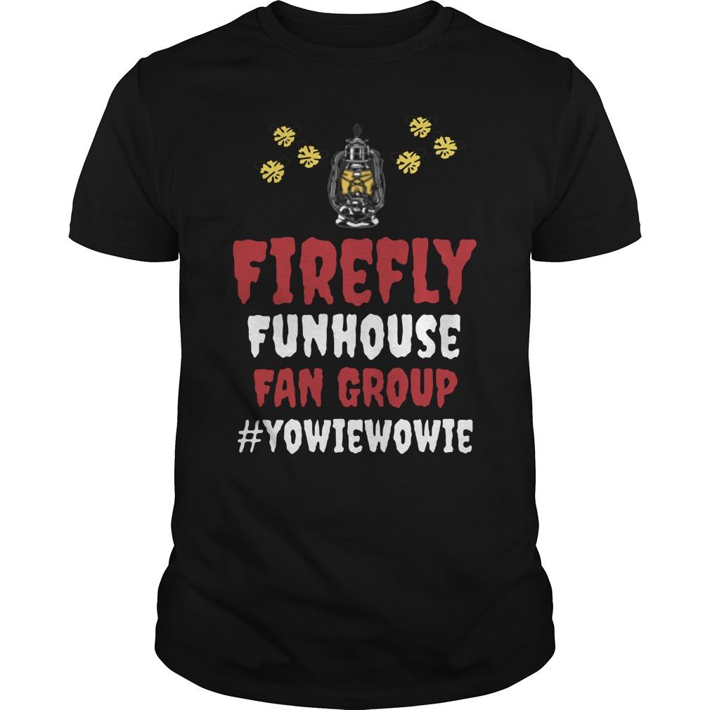 Firefly Funhouse Fan Group Guys Shirt