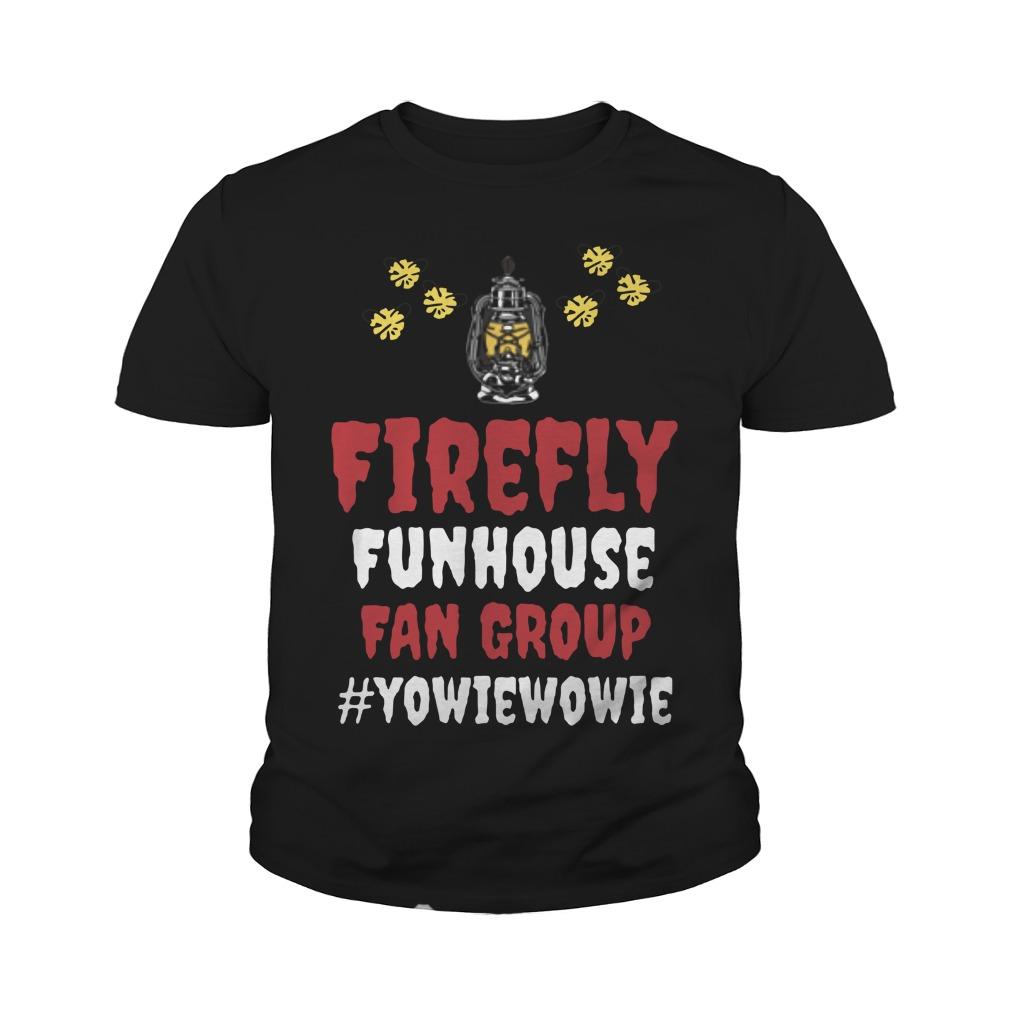 Firefly Funhouse Fan Group Youth Shirt