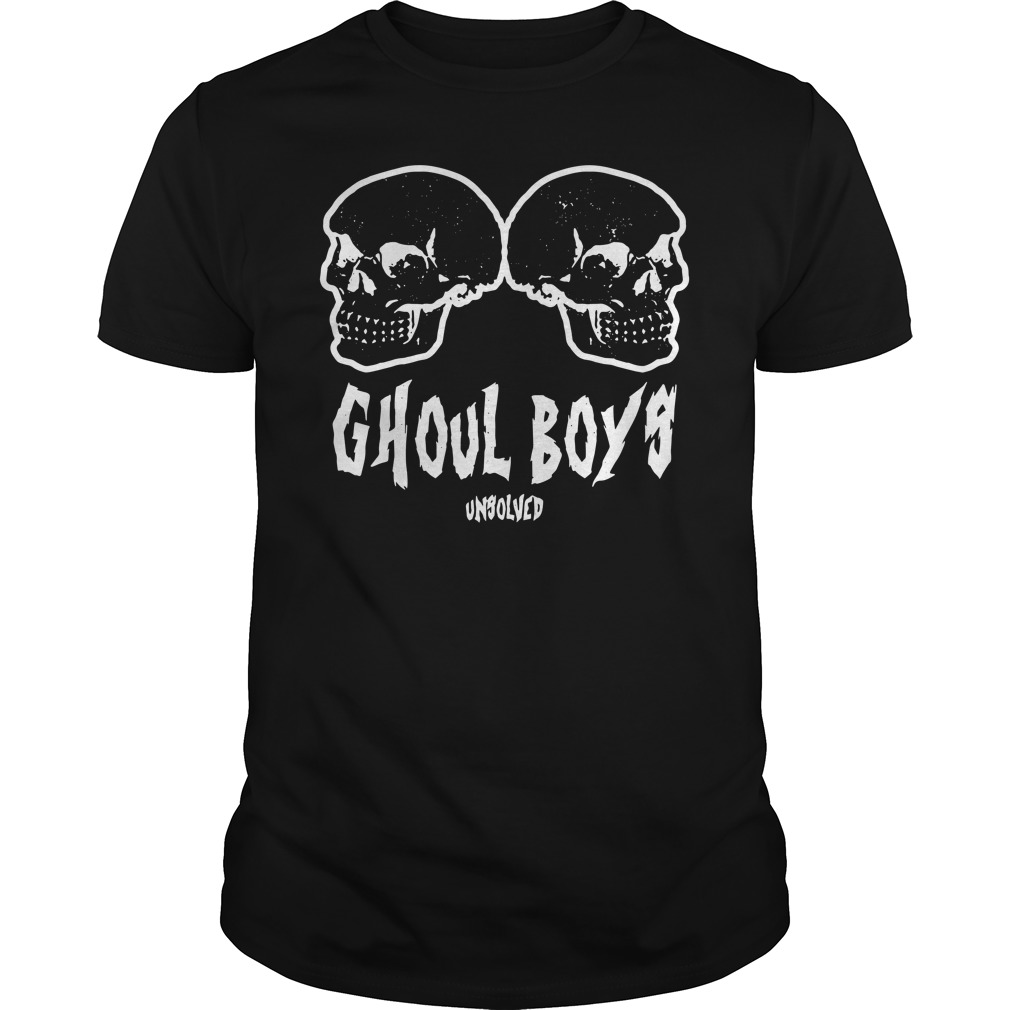 Ghoul Boys Unsolved Guys Shirt