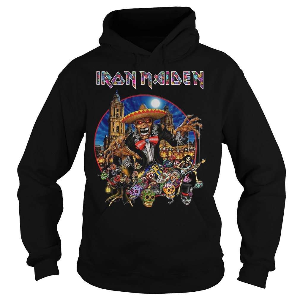 Iron Maiden In The Mexico City 2019 Hoodie