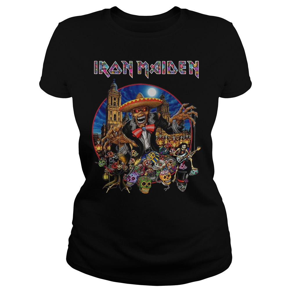 Iron Maiden In The Mexico City 2019 Ladies Shirt