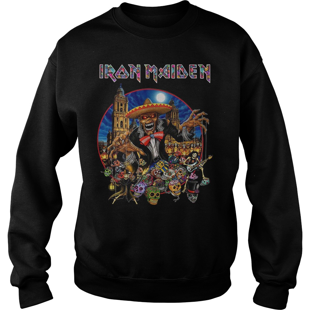 Iron Maiden In The Mexico City 2019 Sweatshirt