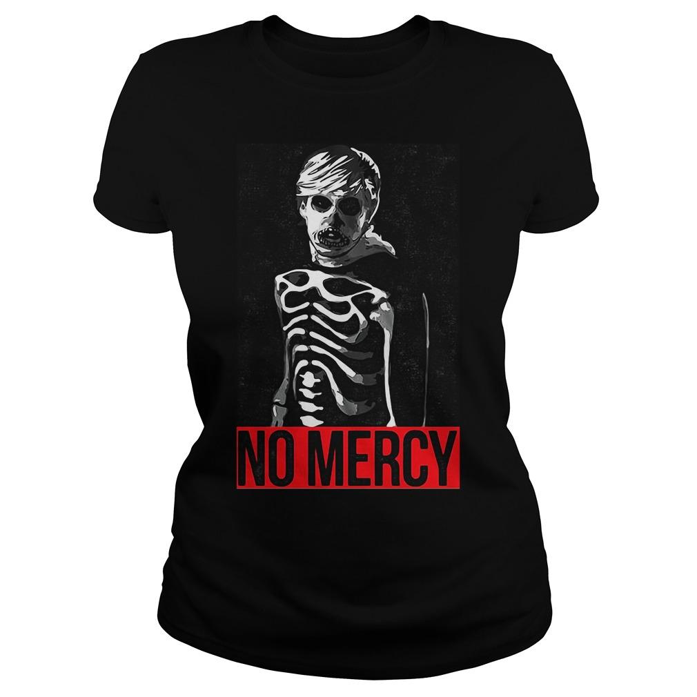 Karate Kid No Mercy Skeleton Ladies Shirt
